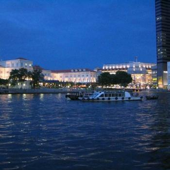Evening on the Singapore River