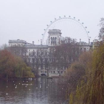 St.James Park in london,