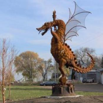 There be dragons in Wisconsin!