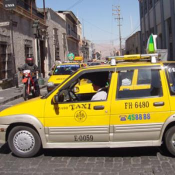 Tico is a model of Daewoo cars which are used as taxis in Arequipa, Perú. Now, the term is used as a generic name for taxis.