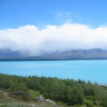 Lake Pukaki near Queenstown, NZ