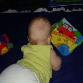 5mth old reading