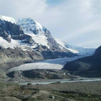 Athabasca Glacier, Columbia Icefields, Alberta Canada