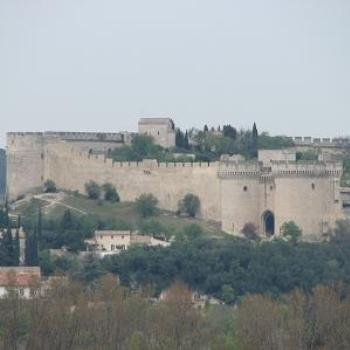 Fort at Villeneuve, taken from Avignon