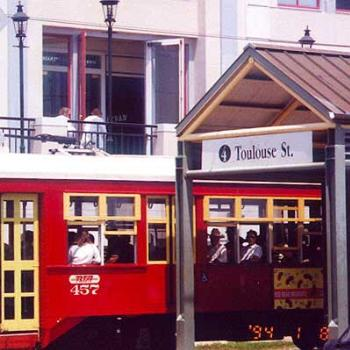 Streetcar in New Orleans / kr NC