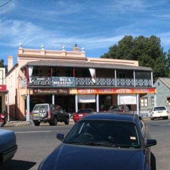 Braidwood main street Kate/Sydney
