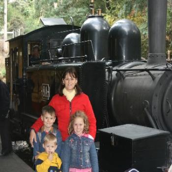 Puffing Billy Train in Melbourne