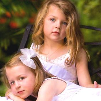 Abigail and Hannah, my granddaughters