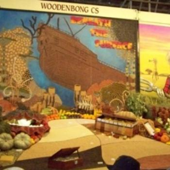 agricultural display at Ecca 1 - Joann