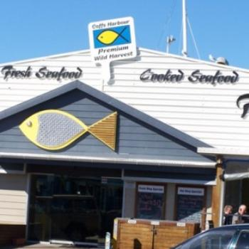 Coffs Harbour fish shop- Joann