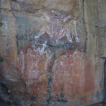 Ancient Aboriginal Art, Kakadu, N.T. - Wendy/Perth