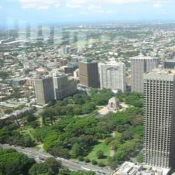 View from Sydney Tower (Sydney '09/LankyYank)