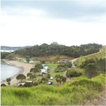 Camping at Bland Bay, NZ