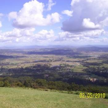 View west from Mt Tamborine Qld (CynB)