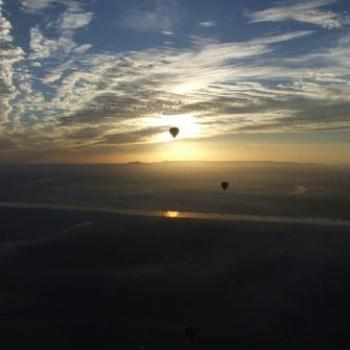 Balloon flight at dawn over the River Nile, Egypt, Eileen (Surrey, England)