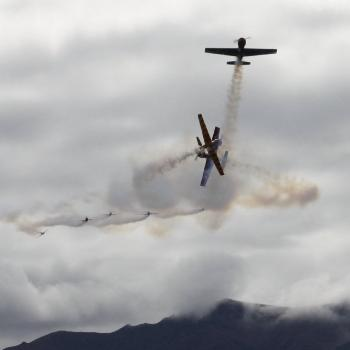Stunt aircraft at Wanaka NZ 2010
