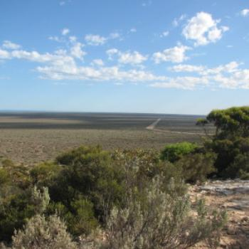 Nullarbor Plain from lookout at Eucla - Wendy/Perth