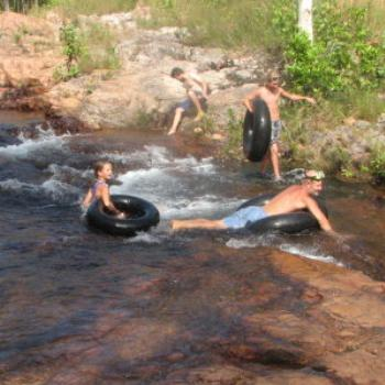 Swimming at Buley Holes, Litchfield Nat. Park, N.T. - Wendy/Perth