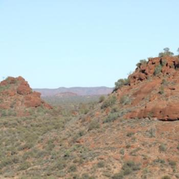 Central Australia--near Palm Valley in West Macdonnell Ranges, Central Australia