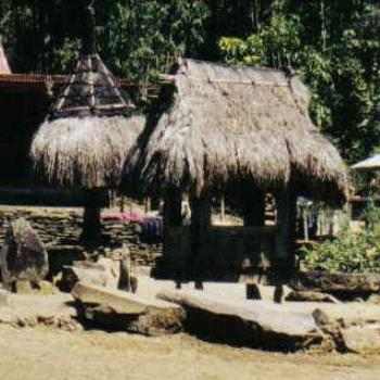 Langa village, Flores, Indonesia
